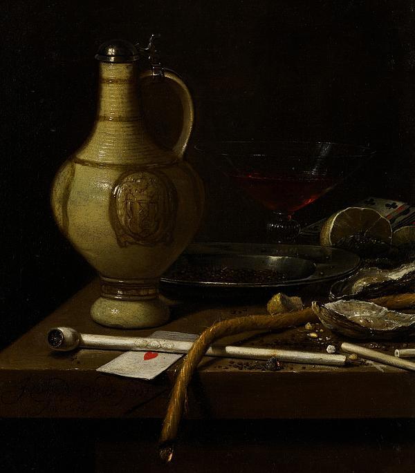 Still Painting - Still Life by Jan Jansz van de Velde