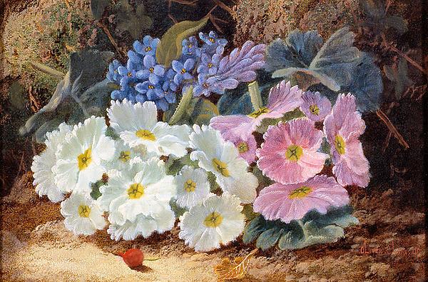 Still Life Of Flowers Digital Art - Still Life Of Flowers by Oliver Clare