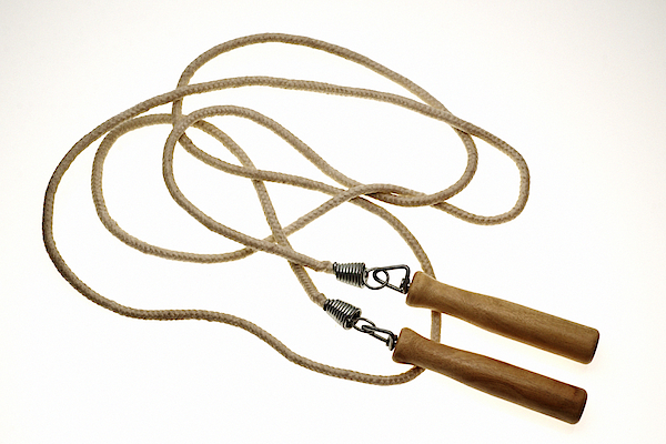 Still Life Of Jump Rope. Photograph by Thinkstock