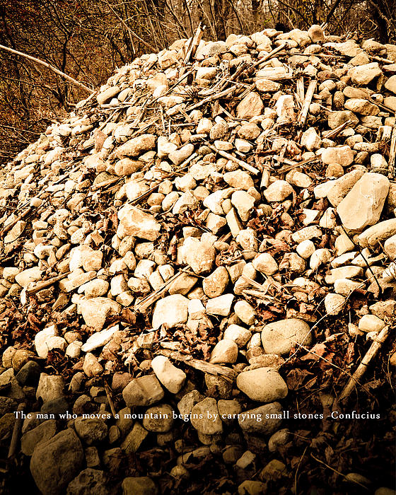 Stones Photograph - Stones by BandC  Photography