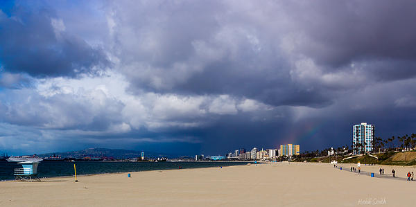 America Photograph - Storm On The Horizon by Heidi Smith