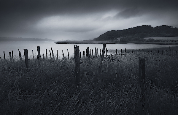 Stormy Weather Over An Estuary In Brittany, France Photograph by Kristian Bell