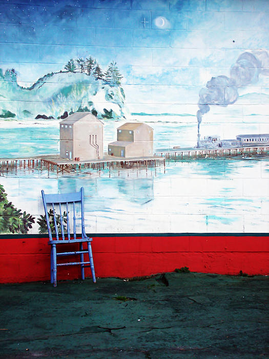 Mural Photograph - Story Corner by Pamela Patch