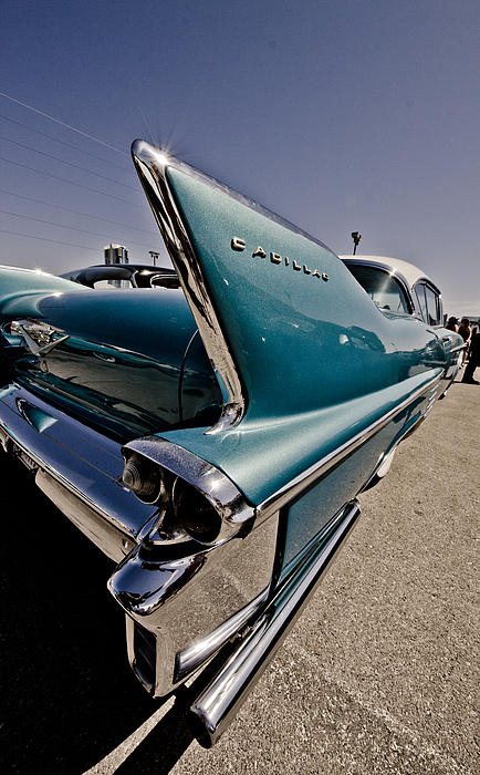 Cadillac Photograph - Streamlined by Merrick Imagery