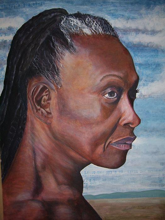 Image Painting - Strong Woman by Linda Vaughon