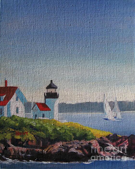 Landscape Painting - Summer Breeze by Shirley Braithwaite Hunt