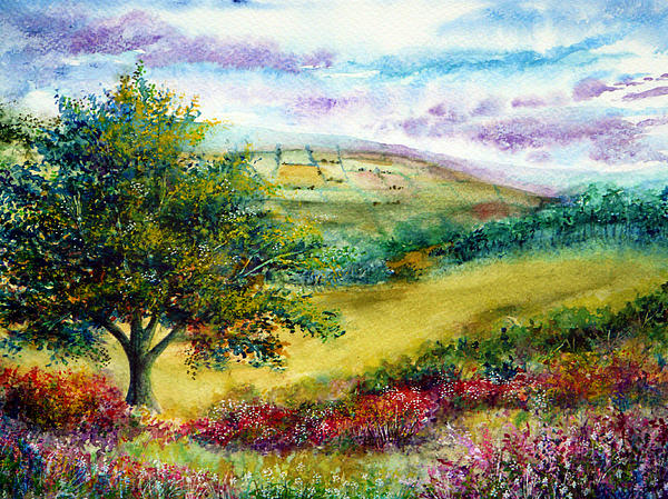 Nature Painting - Summer Days by Ann Marie Bone