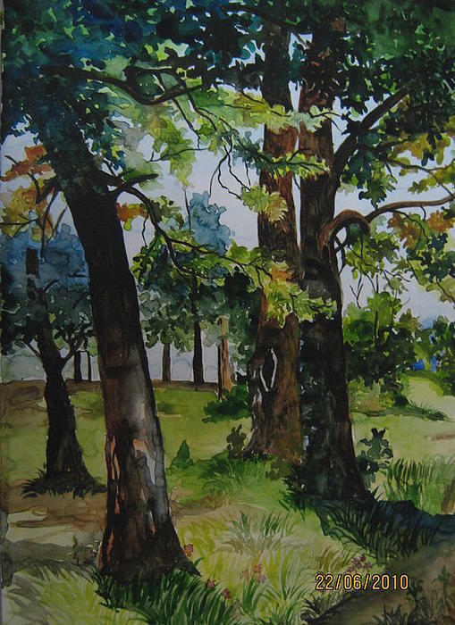 Summer Painting by Lupamudra Dutta