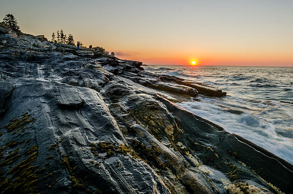 Maine Photograph - Sun Breaks At Pemaquid Point by At Lands End Photography