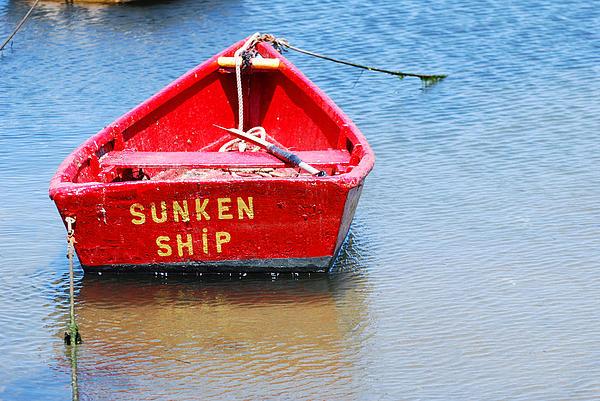 Cape Cod Photograph - Sunken by Lorena Mahoney