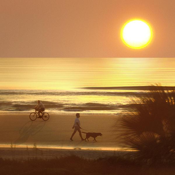 Topsail Island Beach Photograph - Sunrise At Topsail Island 2 by Mike McGlothlen