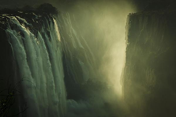 Victoria Falls Photograph - Sunrise At Victoria Falls by Alison Buttigieg