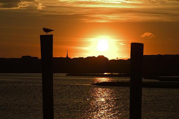 Sunrise Photograph - Sunrise Over Topsail Island by Mike McGlothlen