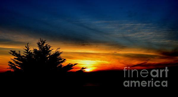Jim Fitzpatrick Photograph - Sunset Overlooking Pacifica Ca  by Jim Fitzpatrick