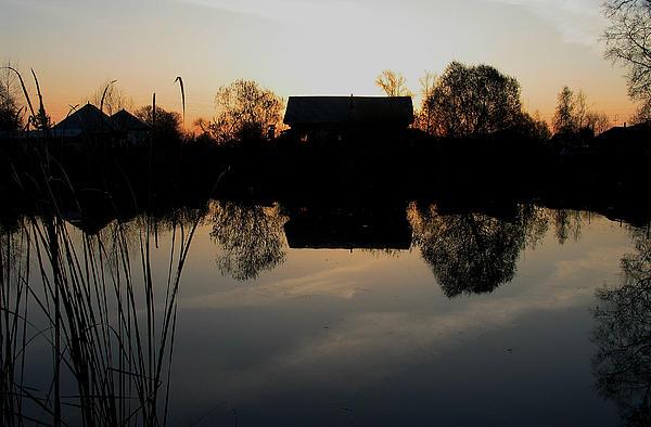 Talmenka Photograph - Sunset Talmenka by Alexei Biryukoff
