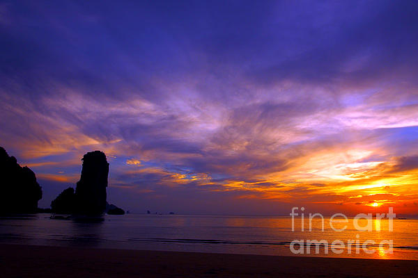 Sunset Photograph - Sunsets And Beaches by Kaleidoscopik Photography