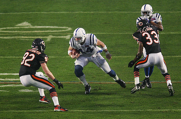 Super Bowl Xli: Indianapolis Colts V Chicago Bears Photograph by Nick Laham