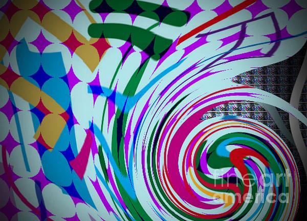 Swirl Digital Art by Kelly McManus