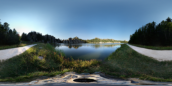 Sylvan Lake, Black Hills, South Dakota, Usa Photograph by John Roberts