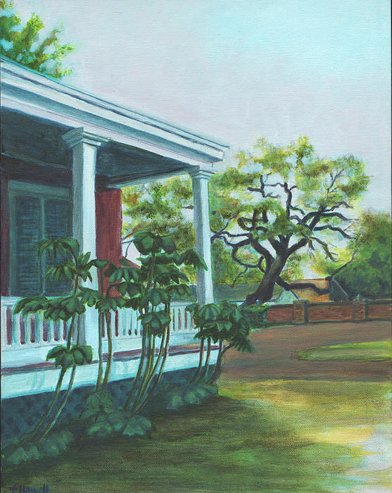 Natchitoches Painting - Tante Huppe Inn by Ellen Howell