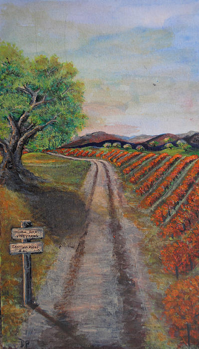 Wine Painting - Tasting Room by Dixie Adams