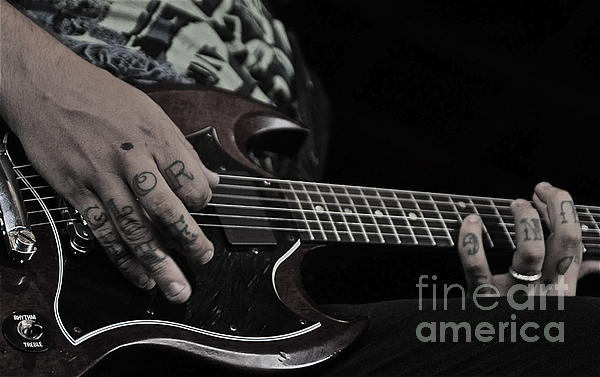 Guitar Photograph - Tattoo by Kyle Robish