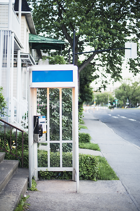 Telephone Booth Photograph by Linda Raymond
