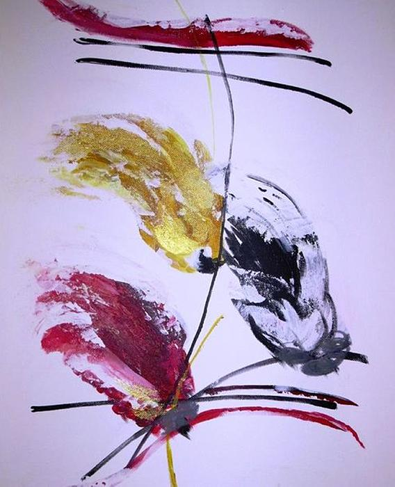 Tema 5 Painting by Ferid Sefer