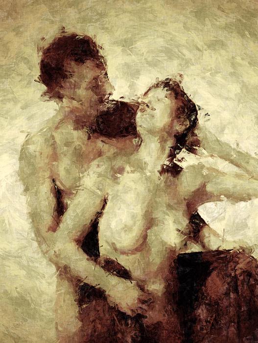Nudes Photograph - Tempt Me by Kurt Van Wagner