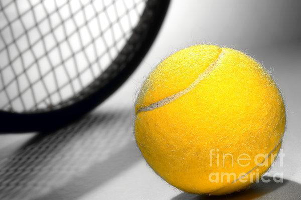 Tennis Photograph - Tennis by Olivier Le Queinec