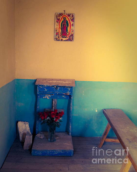 Church Photograph - Terlingua Church Offering by Sonja Quintero