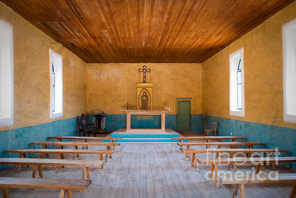 Church Photograph - Terlingua Church by Sonja Quintero