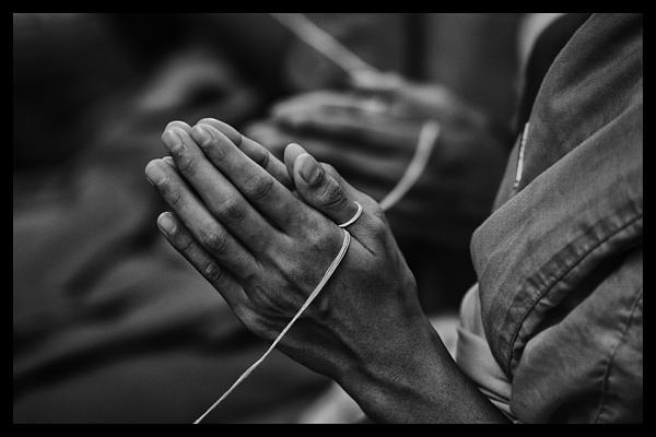 Southeast Asia Photograph - Thailand Buddhist Prayers 6 by David Longstreath