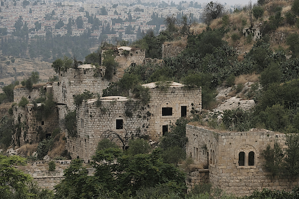 The Abandoned Palestinian Village Of Lifta On The Outskirts Of Jerusalem Photograph by Eddie Gerald