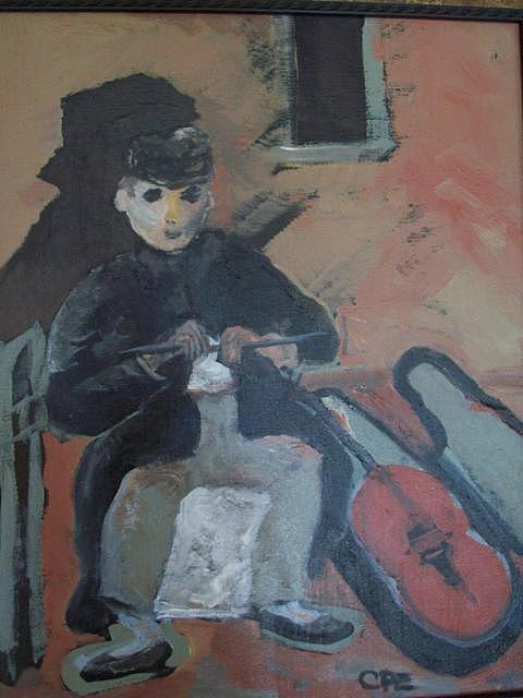 Artist Painting - The Artist by Carol Engler