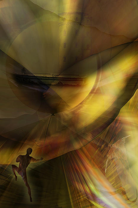 Balloon Digital Art - The Balloon Master by Holger Debek