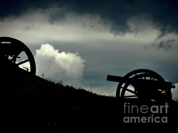 Cannons Photograph - The Battle by Sharon Costa