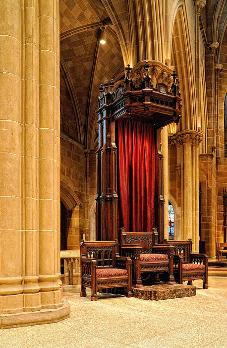 Bishop Photograph - The Bishops Chair II by Dick Wood