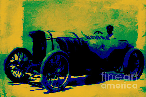 Transportation Photograph - The Blitzen Benz Racer - 20130208 by Wingsdomain Art and Photography