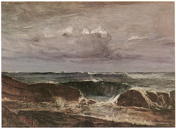 James Abbott Mcneill Whistler Painting - The Blue Wave Biarritz by James Abbott McNeill Whistler