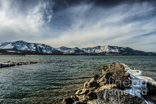 Lake Tahoe Photograph - The Blustery Day by Mitch Shindelbower
