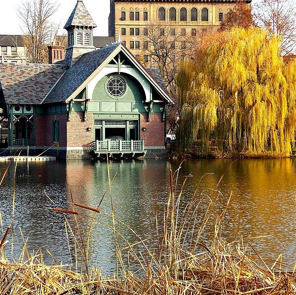 Boat Photograph - The Boat House by Marvin Washington