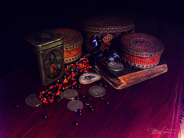 Child Photograph - The Child With The Ark by Ciprian Alexandrescu