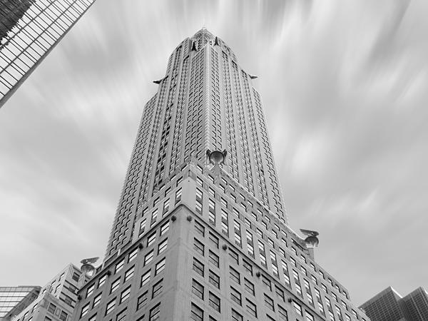 Landmarks Photograph - The Chrysler Building by Mike McGlothlen