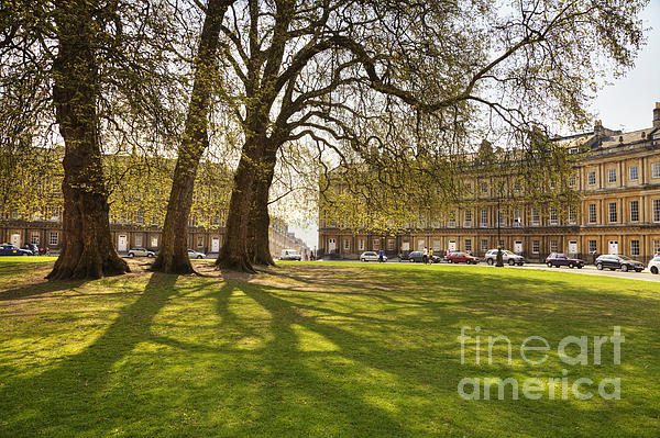 Architecture Photograph - The Circus Bath Somerset by Colin and Linda McKie