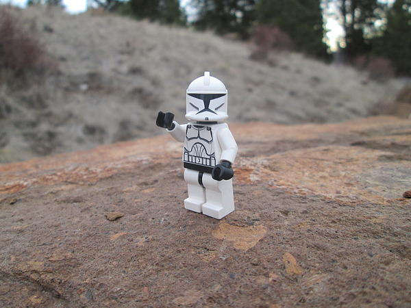 Lego Photograph - the Clone by Harrison Matlock