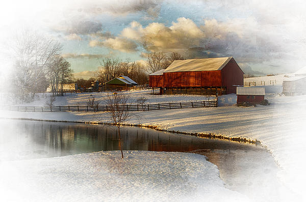 Snow Photograph - The Color Of Winter by Kathy Jennings