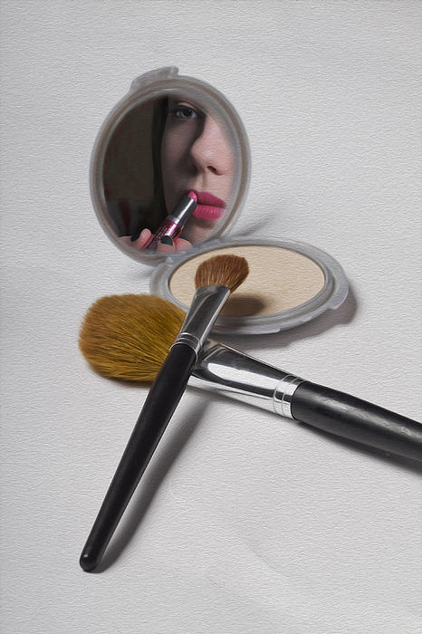 Brushed Photograph - The Compact by Sarah Christian