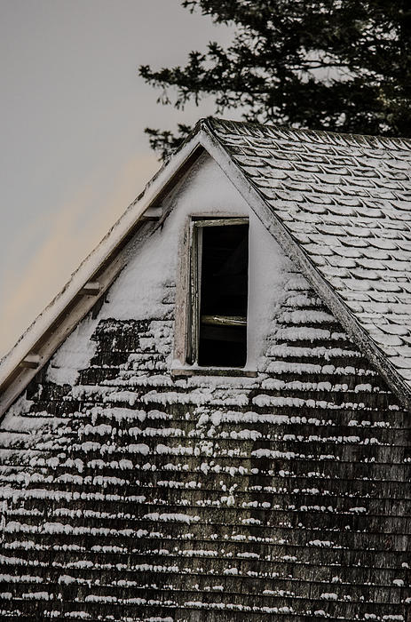Barn Photograph - The Crows Nest by Susan Capuano