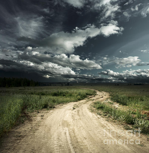 Dark Clouds Photograph - The Dark Clouds by Boon Mee